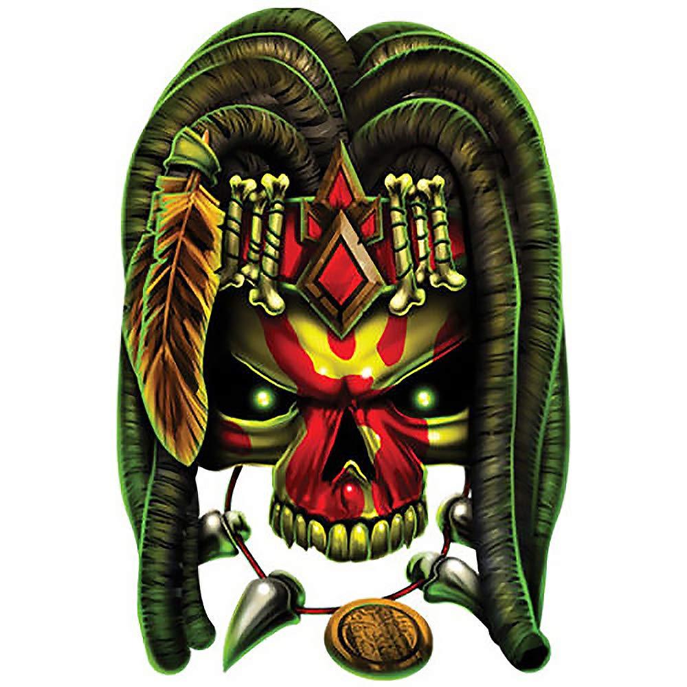 Amazon.com : Best Of Skulls Body Temporary Tattoo Witch.