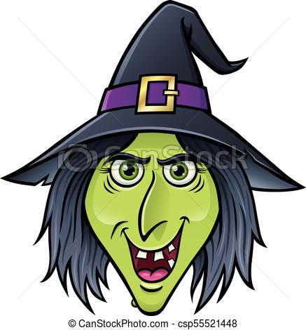 Witch face clipart 5 » Clipart Station.