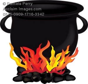 Cauldron on a Fire Royalty.
