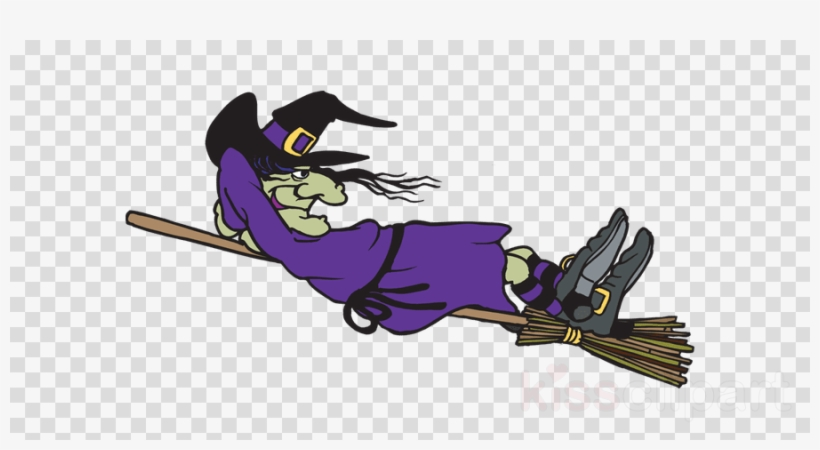 Heksen Op Bezem Clipart Witchcraft Broom Clip Art.