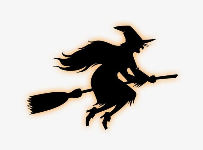Witch Riding A Broom PNG, Clipart, Broom, Broom Clipart.