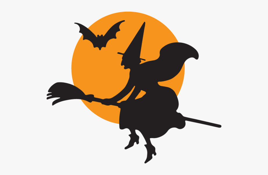 Witch Halloween Clip Art, Cliparts & Cartoons.