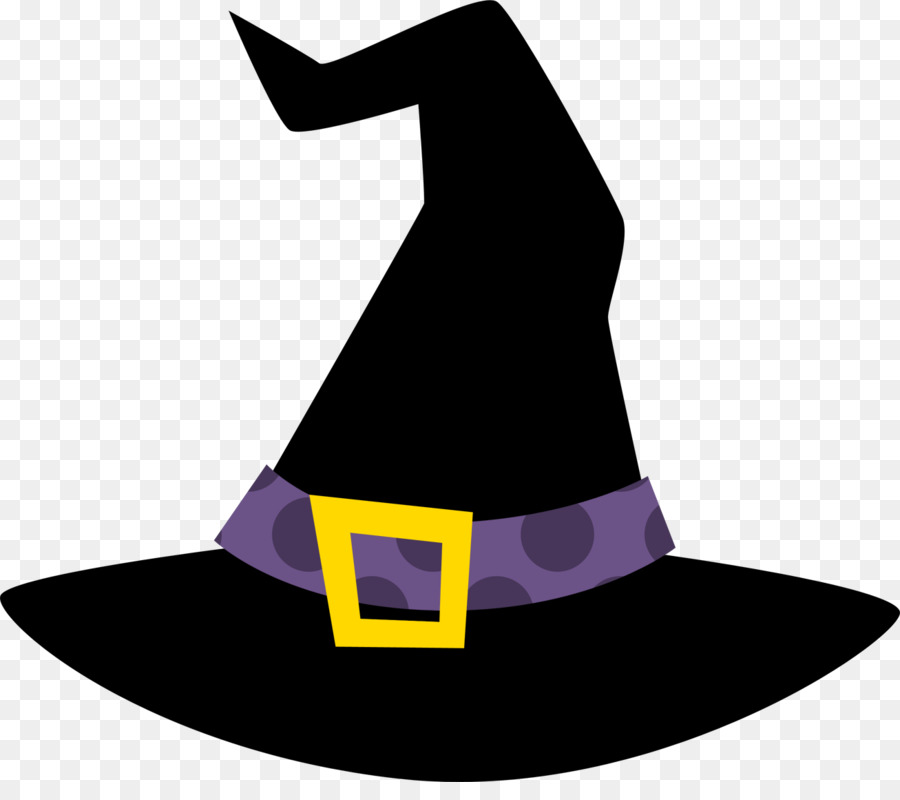 Halloween Witch Hat png download.