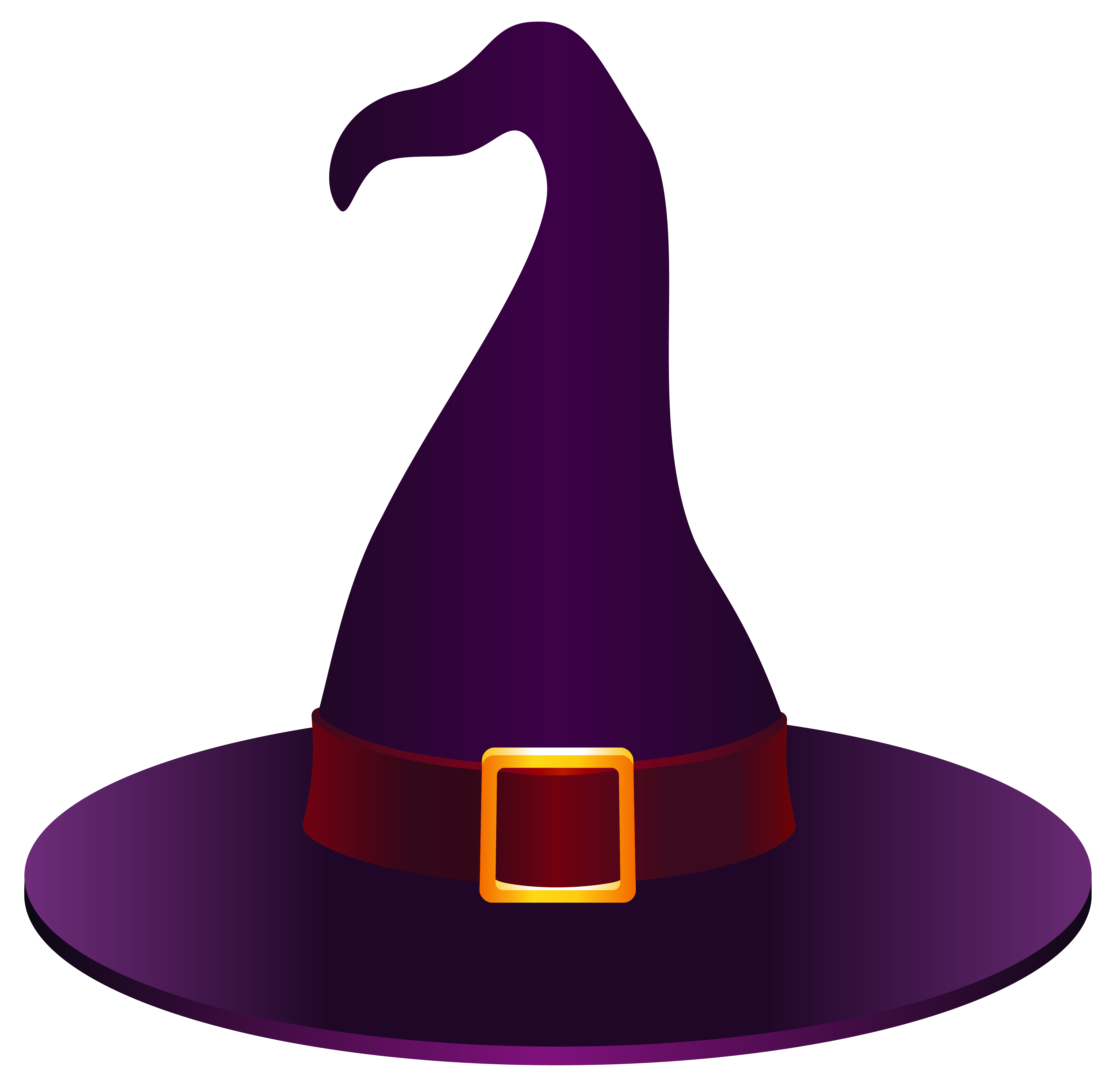 Witch Hat PNG Clipart Picture.