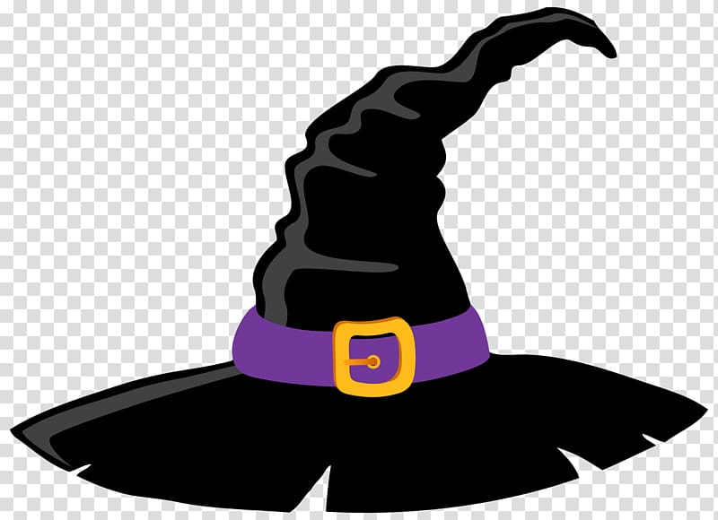 Witch hat , witch transparent background PNG clipart.