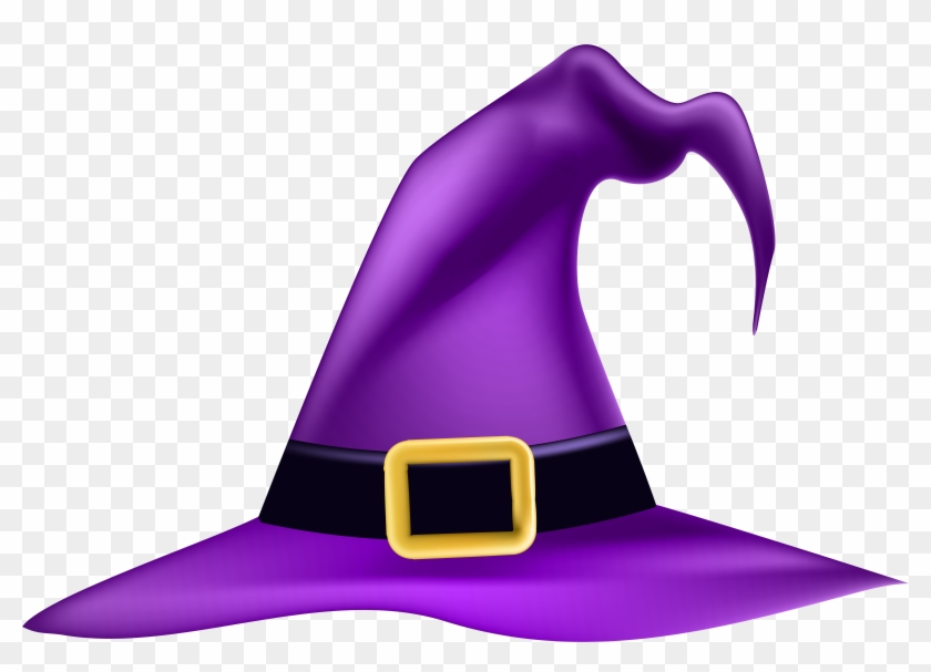 Halloween Witch Hat Clipart, HD Png Down #735301.