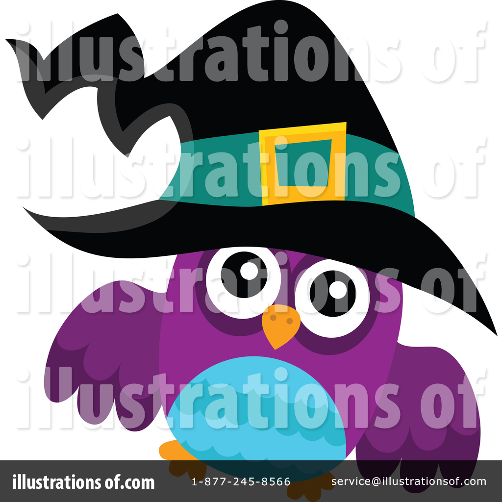 Witch Owl Clipart #1439189.