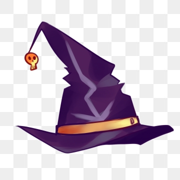 Witch Hat Png, Vector, PSD, and Clipart With Transparent Background.