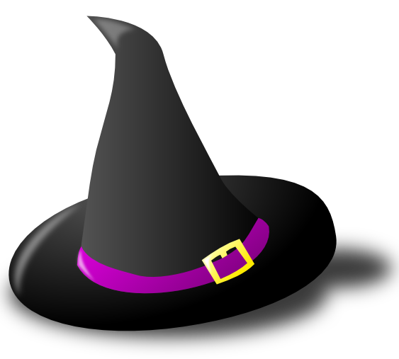 Witch Hat PNG Image.