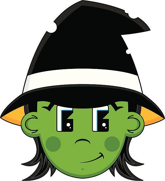 Halloween Witch Head.
