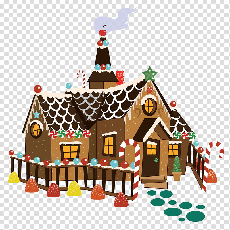 Witch House transparent background PNG cliparts free.