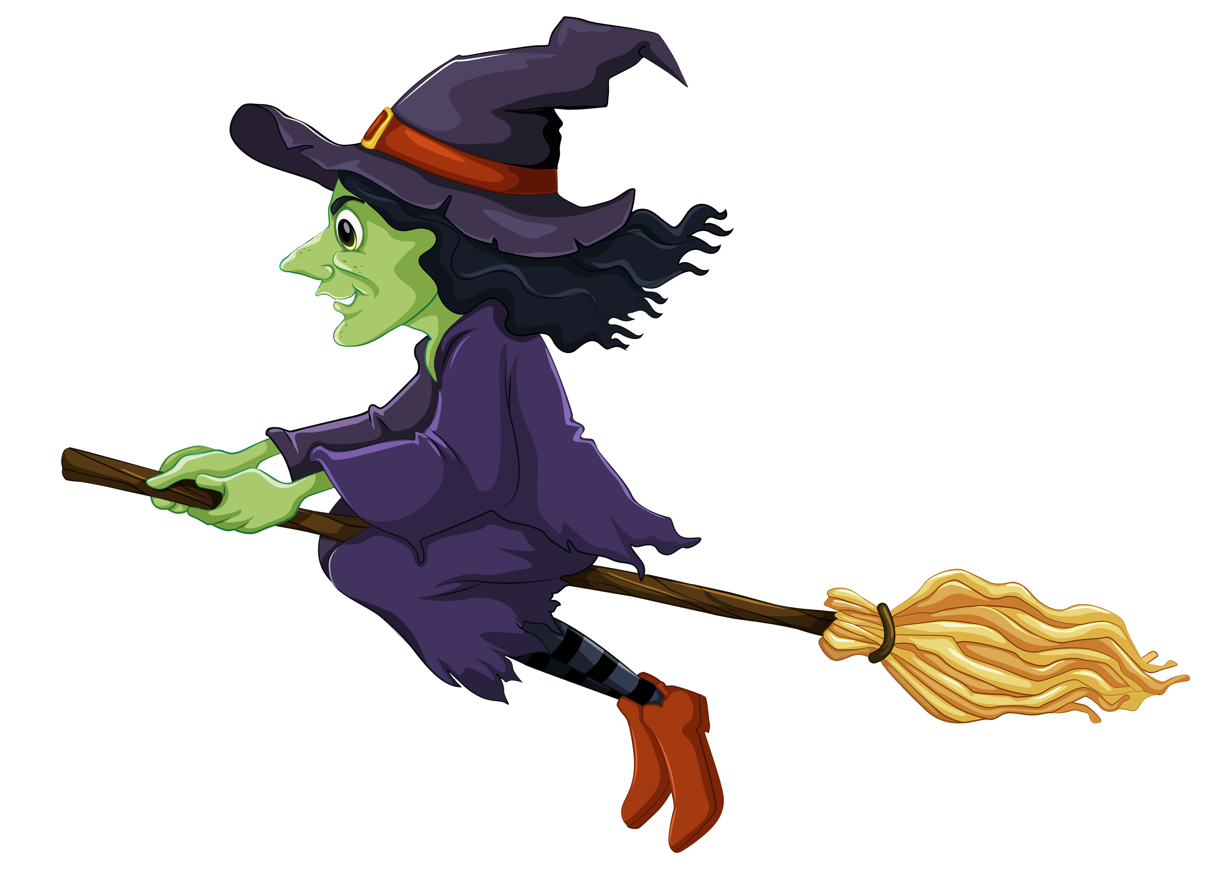 Witch Clipart Halloween.