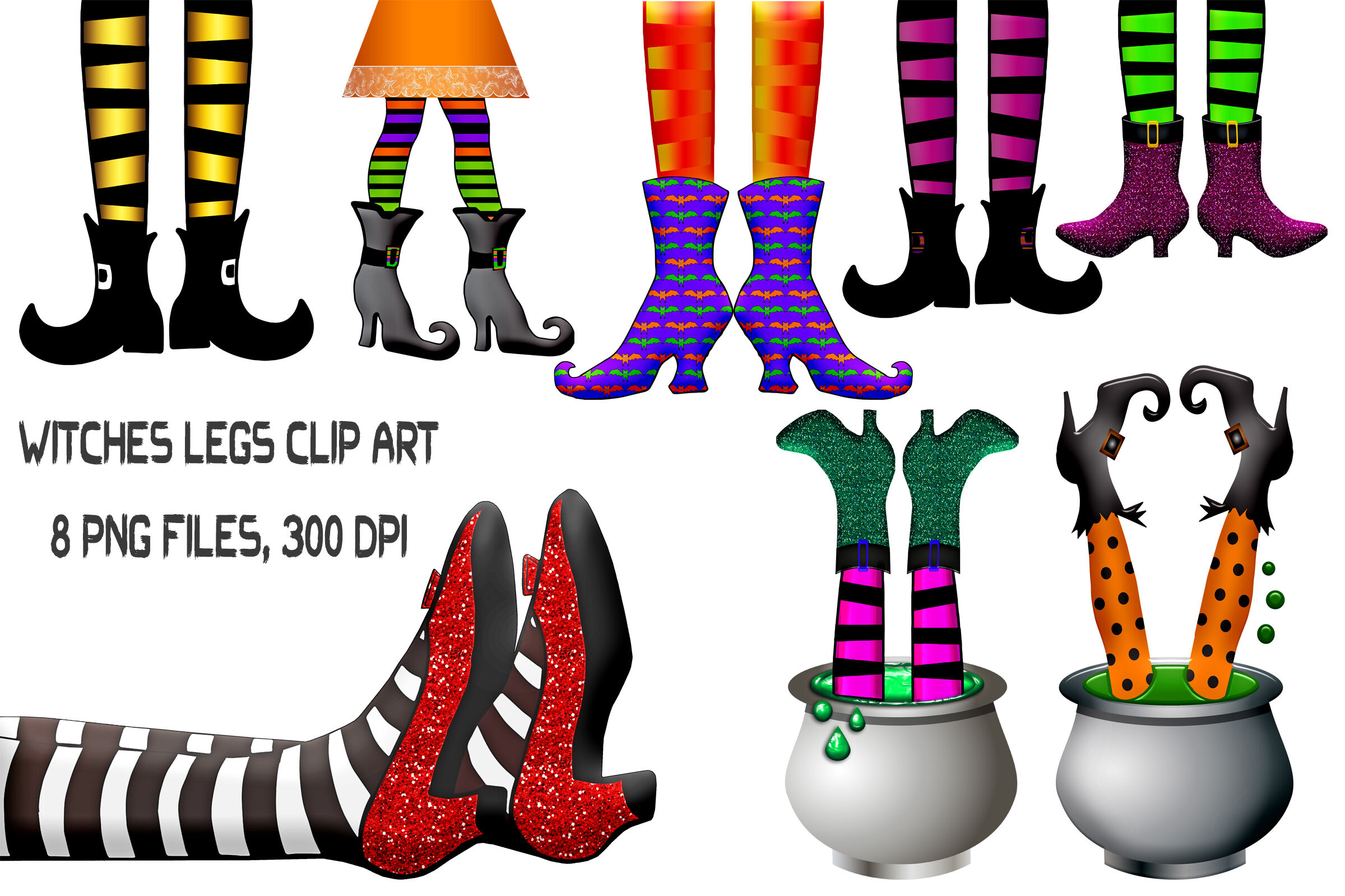Witches Legs Clip Art By Me and Ameliè.