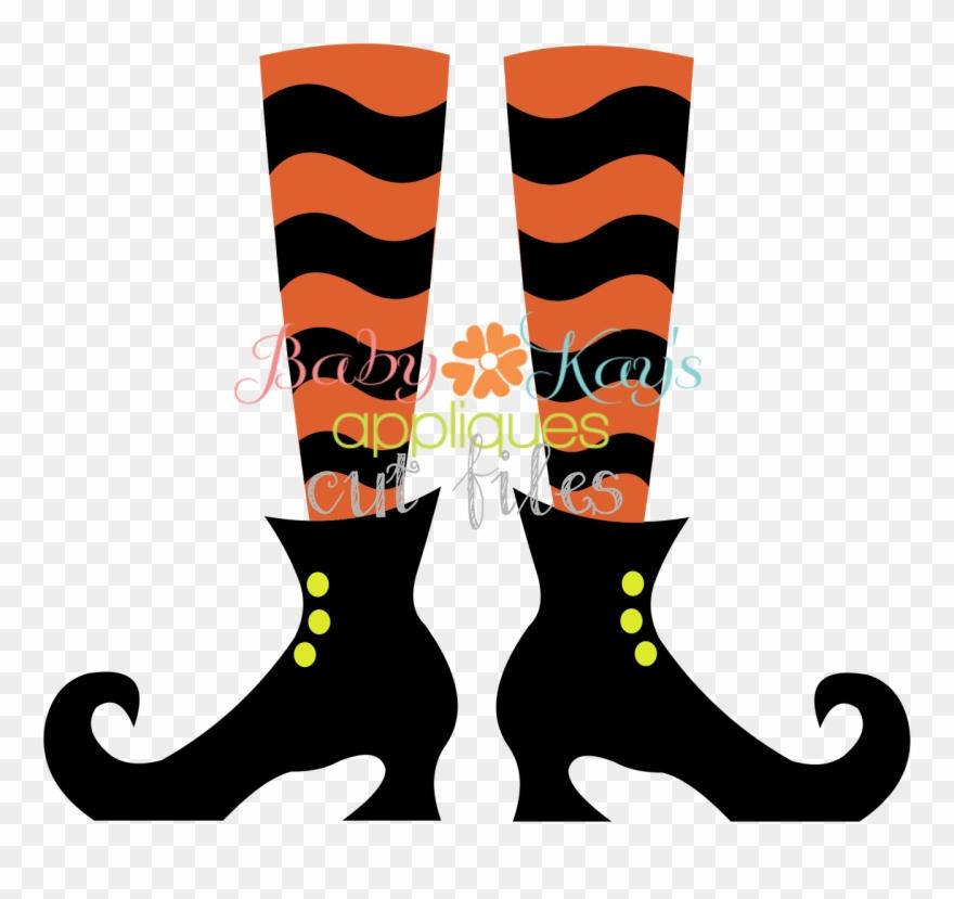 Witch Legs Clip Art.