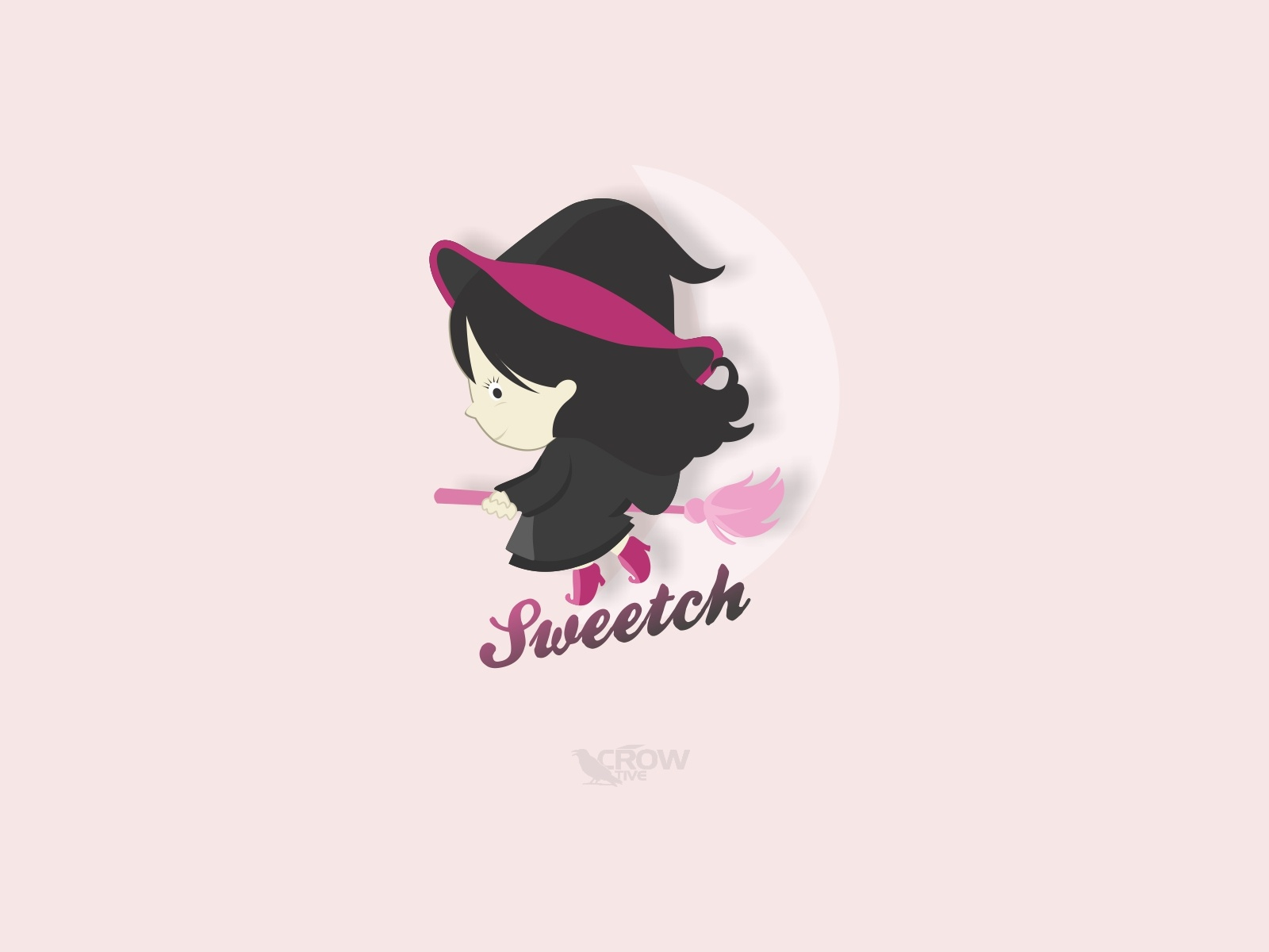 Sweet Witch Logo by Muhammad Rifqi on Dribbble.