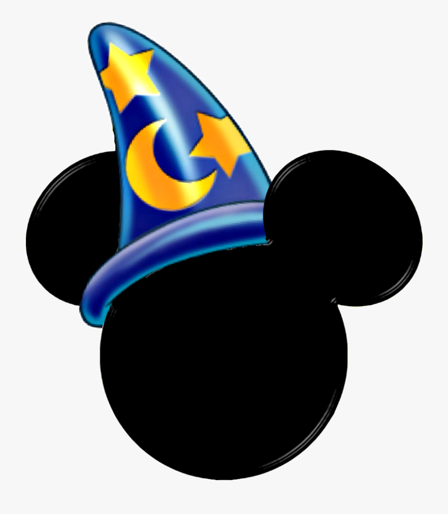 Sorcerer Mickey Hat Clipart.