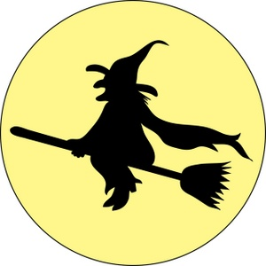 Witch broom clipart free images.