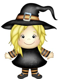 Witch with Lantern PNG Clipart.