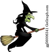 Witch Clip Art.