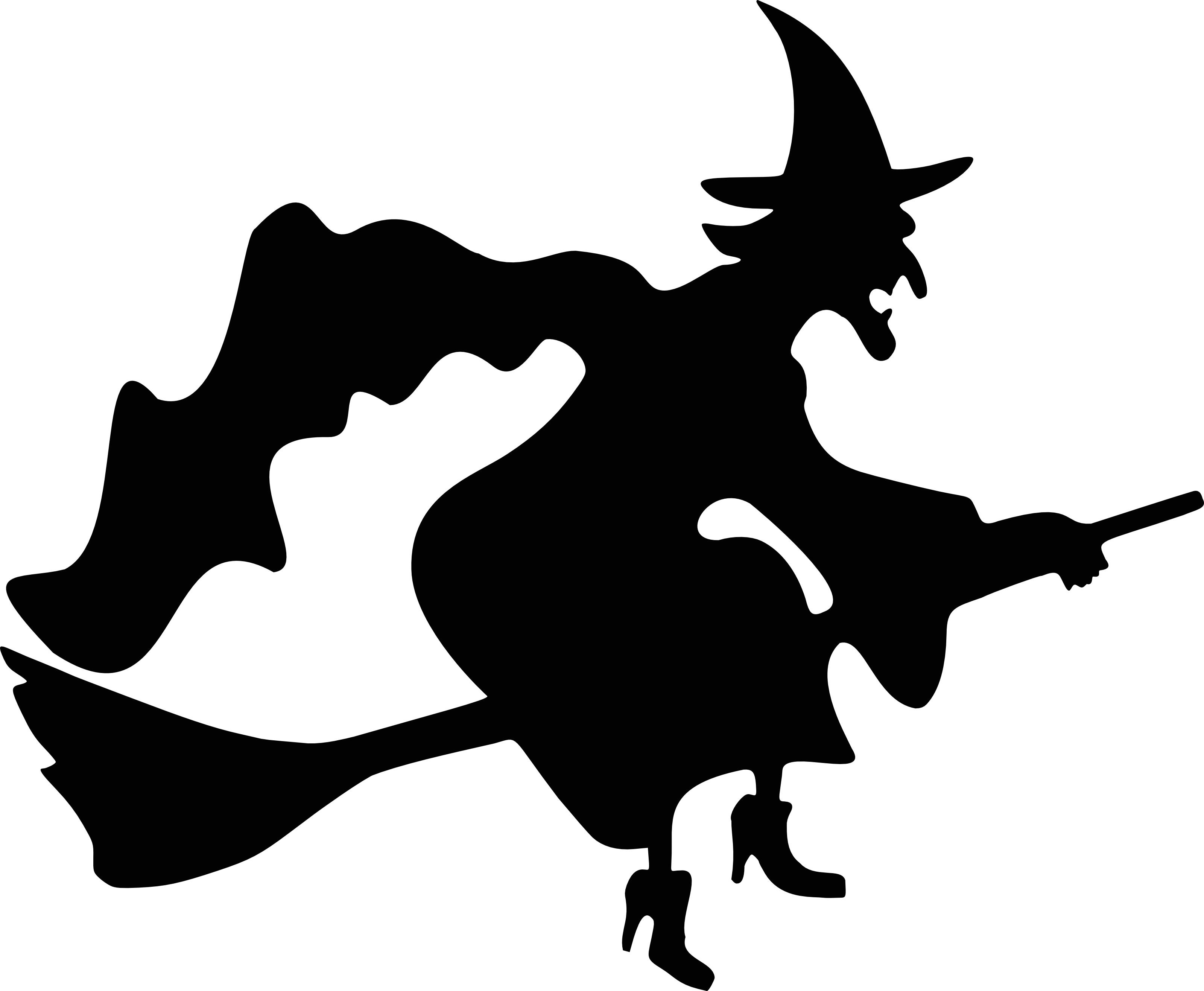 881 Witch Hat free clipart.