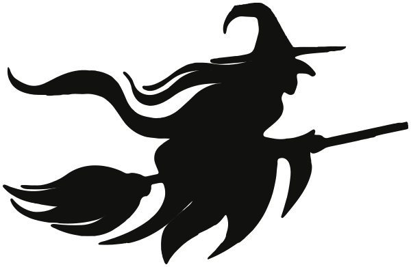 Halloween Witch PNG Image.
