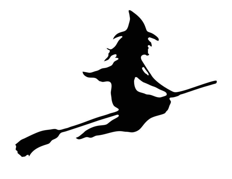 Witch Clipart Broom.
