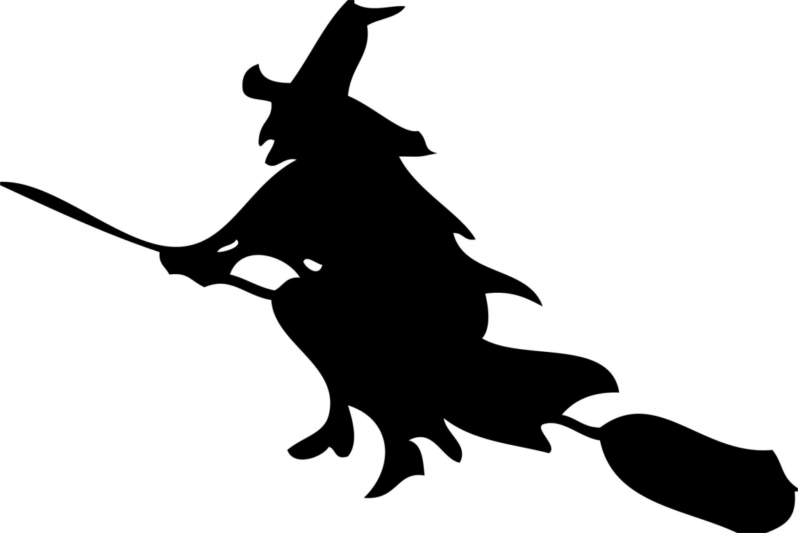 Free Pictures Of Witches On Broomsticks, Download Free Clip.