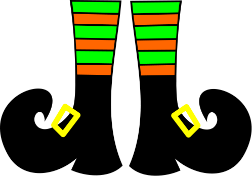 Witch clipart boot #1.