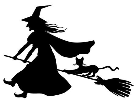13,818 Witch Silhouette Stock Illustrations, Cliparts And Royalty.