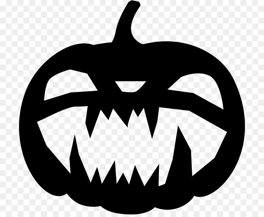 Halloween Pumpkin Silhouette clipart.