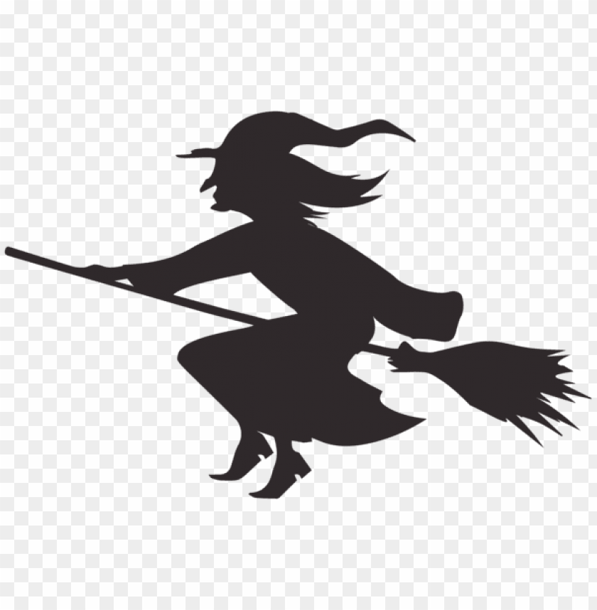 Download halloween witch silhouette png images background.
