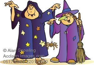 2066 Wizard free clipart.