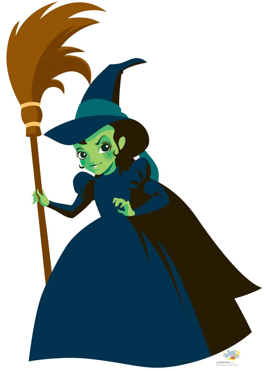 Wizard of oz witch clipart 2.
