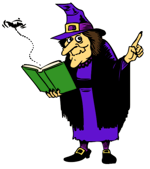 Witchcraft Clipart.