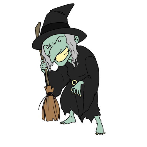 Free Witch Clip Art.