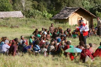 Papua New Guinea police say four accused of witchcraft now safe.