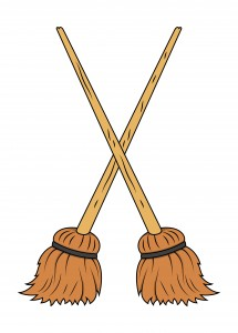 A magical vacuum: Besom sweeping magic for busy witches.