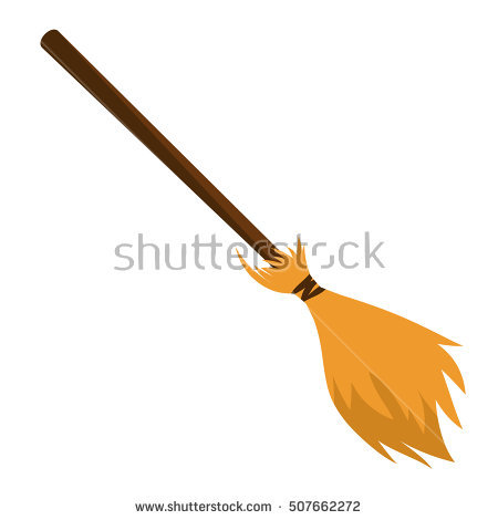 Witch Broom Stock Photos, Royalty.