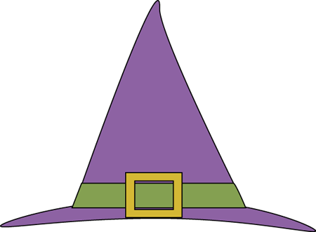 Witch Hat Clip Art.