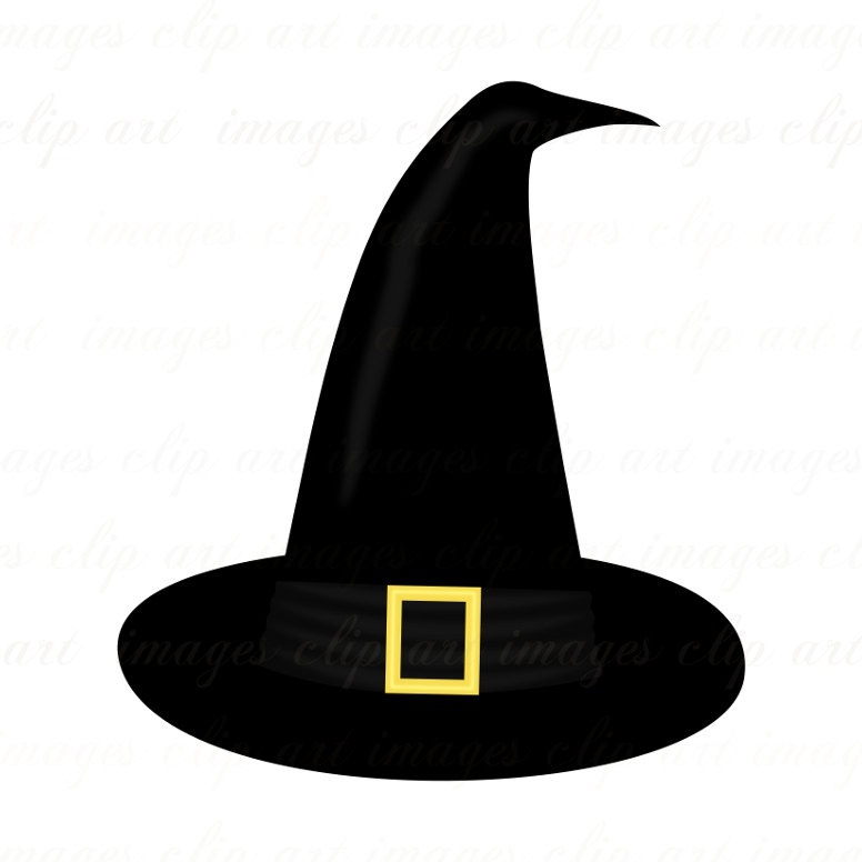 Halloween Witch Hat Clipart.