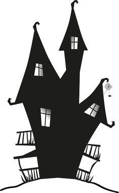 Witch's house clipart #15