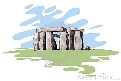 Henge Stock Illustrations.