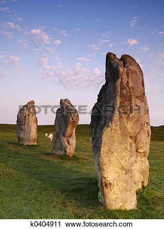 Stock Photography of Avebury k0404911.