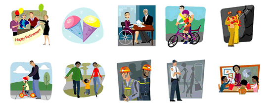 Design an Ethics Course Template with Clipart #9.