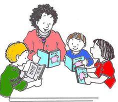 Reading group clip art.