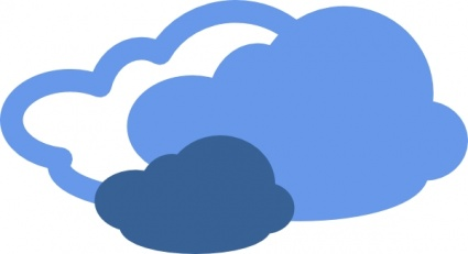 Best Blue Cloud Clipart #29531.