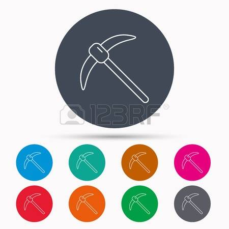 Mining Tool Stock Vector Illustration And Royalty Free Mining Tool.