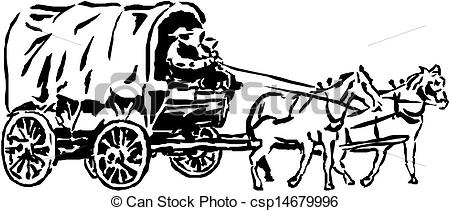 With horse and wagon clipart - Clipground