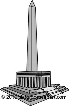Monument Clip Art.