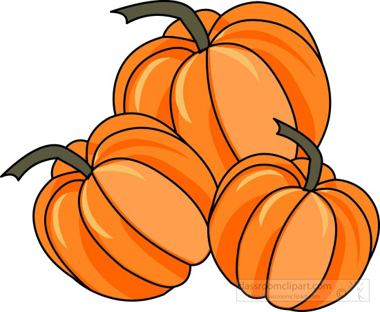 Turkey And Pumpkin Clipart.